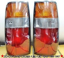 LH+RH REAR TAIL LIGHT LAMP PAIR FOR TOYOTA LAND CRUISER FJ80 FJ82 YEAR 1989-1997