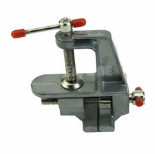 "36mm 3.5"" Mini Vise Tool Aluminum Small Jewelers Hobby Clamp On Table Bench Vice"