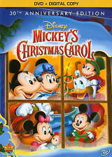 Mickey's Christmas Carol (DVD, 2013, 30th Anniversary Edition) +Digital Copy NEW