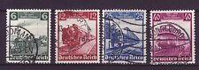 Deutsches Reich Nr.  580-83  gest.   Deutsche Eisenbahn    -33a