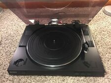 SONY PS-LX250H Automatic Stereo Belt-Drive Turntable System LP Record Player