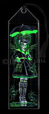 Fairy Art Cybergoth Android Radioactive Green Fish Digit Myka Jelina BOOKMARK