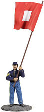 BRITAINS SOLDIERS CIVIL WAR UNION SIGNALMAN WITH SIGNAL FLAG 31206