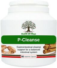 Health All Ways Herbal Detox Gastrointestinal P-Ceanse Capsules- 90 capsules