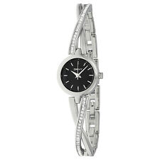 DKNY Crosswalk Black Dial Stainless Steel Ladies Watch NY2174