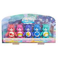Care Bears Figurine Figure Set Harmony, Cheer, Wish, Love-a-lot and Grumpy Bear