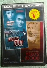 Deadly Duo And Heros Blood Double Features Dvd Action Pack Films