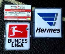 2013-15 GERMAN Bundesliga OFFICIAL LEXTRA Football Soccer Badge Patch Set NEW