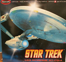 "Polar Lights 1/350 Star Trek USS Enterprise A Plastic Model Kit  35"" Long 808"