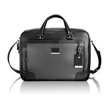 TUMI LIMITED EDITION CFX Cortlandt Brief Carbon Fiber Black Leather 93253  $995