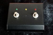 Randall 2 Button Triple Function Midi Footswitch Pedal NEW 6 Pin Male Din