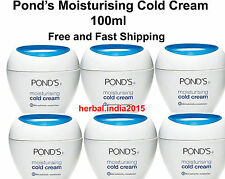 2 Pack Ponds Moisturing Cold Cream, 100ml. Free and Fast Shipping from India.SBS