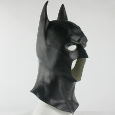 Batman Full Mask with Cowl Adult The Dark Knight Rises Halloween Cosplay Prop