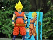 """Livraison gratuite dragon ball z son goku 14"""" figure anime jouet modèle poupée cadeau nib"""
