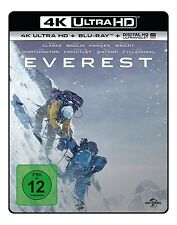 JOSH BROLIN,SAM WORTHINGTON JASON CLARKE - EVEREST 4K  2 ULTRA HD BLU-RAY NEU