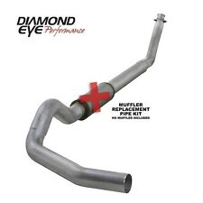 "Diamond Eye 5"" SS Turbo Back Single No Muff For 94-02 Dodge Ram Cummins Diesel"