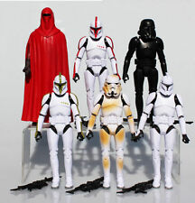 6Pcs Set Star Wars Clone Troopers Shadow Stormtrooper Action Figure Figurine Lot