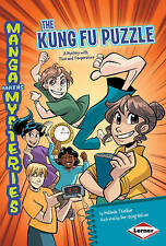 Kung Fu Puzzle: A Mystery with Time and Temperature (Manga Maths Mysteries),Meli