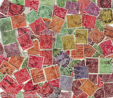 "AUSTRALIAN PRE DECIMAL STAMP LOTS 100x KGV HEADS USED STAMPS ""FREE POSTAGE"""