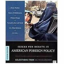 Issues for Debate in American Foreign Policy: Selections from iCQ Researcheri, 2