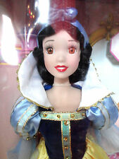 Snow White Porcelain Doll {Disney} Reflections Collection 2006 Brass Key NIB