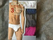 2XIST Essential No Show Trunks 3 pack - Small  Blue/Gray/Pink