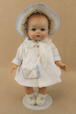 "12"" old vintage HP vinyl Ideal ""Baby Coos"" Doll Made in USA ""TLC"""