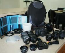 Canon EOS 6D 85mm - f/1.8 lens flash and more!!