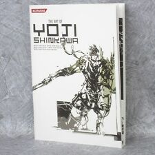 YOJI SHINKAWA Art of Yoji Shinkawa 1 Metal Gear Solid Booklet Book Ltd *