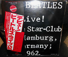 2 LP  THE BEATLES Live At The Star Club In Hamburg Germany 1962    JAPAN  w/OBI