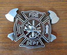 Fire Department Fire & Rescue Belt Buckle Fireman Fire Fighter #1754