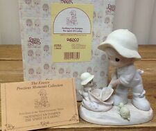Precious Moments Figurine In Box Nothing Can Dampen the Spirit of Caring 603864