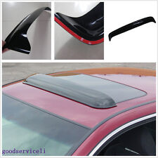 "One Pcs 36.2""*5.5"" Smoke Black Vehicle Exterior Sunproof Visor Rain Guard Shield"