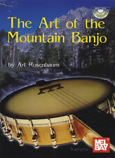 The Art of the Mountain Banjo 5-String TAB Music Book & CD