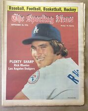 The Sporting News: Rick Rhoden PLENTY SHARP September 18, 1976