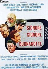 Dvd SIGNORE E SIGNORI,BUONANOTTE (1976) Nino Manfredi/Ugo Tognazzi/Paolo Villagg