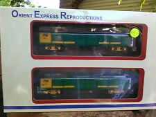 Orient Express Reproductions OR140 AN green/yellow pressed metal doors wagons