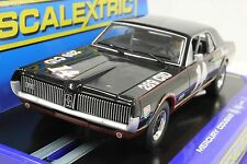 SCALEXTRIC C3536 MERCURY COUGAR TRANS AM 67' DAVE TATUM NEW 1/32 SLOT CAR DPR