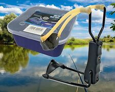 Fishing Bait Catapult Slingshot With FREE Breathable Bait Box Container
