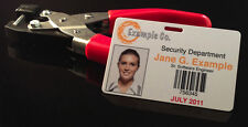 ID Cutter Slot Puncher Cutter - Works with PVC and Teslin ID Badges - Heavy Duty