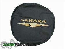 2007-2016 Jeep Wrangler Sahara Spare Tire Cover MOPAR GENUINE OEM BRAND NEW