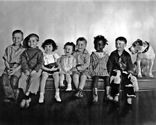 "New 8x10 Photo: ""Our Gang"", The Little Rascals - Alfalfa, Spanky, Darla & others"