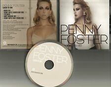 PENNY FOSTER Closer to love w/ MIXES & EXTENDED & EDIT PROMO DJ CD single 2010