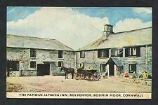 View of Jamaica Inn, Bolventor, Bodmin Moor. Stamp/Postmark - 1985