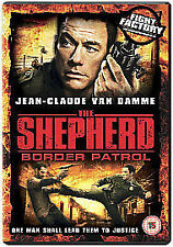 THE SHEPHERD - BORDER PATROL  Van Damme  DVD  ( MINT )