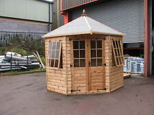 8' x 8' New Geogian Corner Summer House RRP £3399  Delivery charges applicable