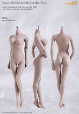 Phicen Female Seamless Body S01A Middle Breast stainless steel Skelenton in PALE