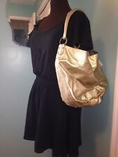 "NWT Roxy Gold Metallic Shoulder Bag ""Quirky"""