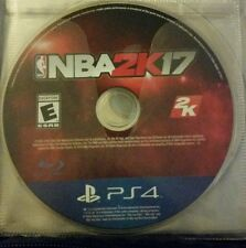NBA 2K17 / GAME DISC ONLY (PS4, 2016)