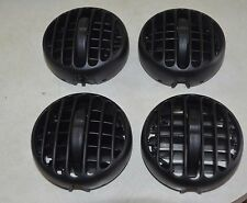 Jeep Liberty Dash Vents Louvers AC Heat 2002 to 2007 Set of Four 4 Black